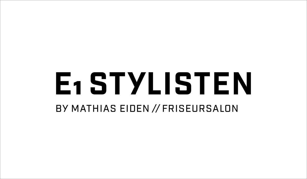Konzeptarbeit ~ Corporate Design ~ Logodesign // Typologo // E1 Stylisten