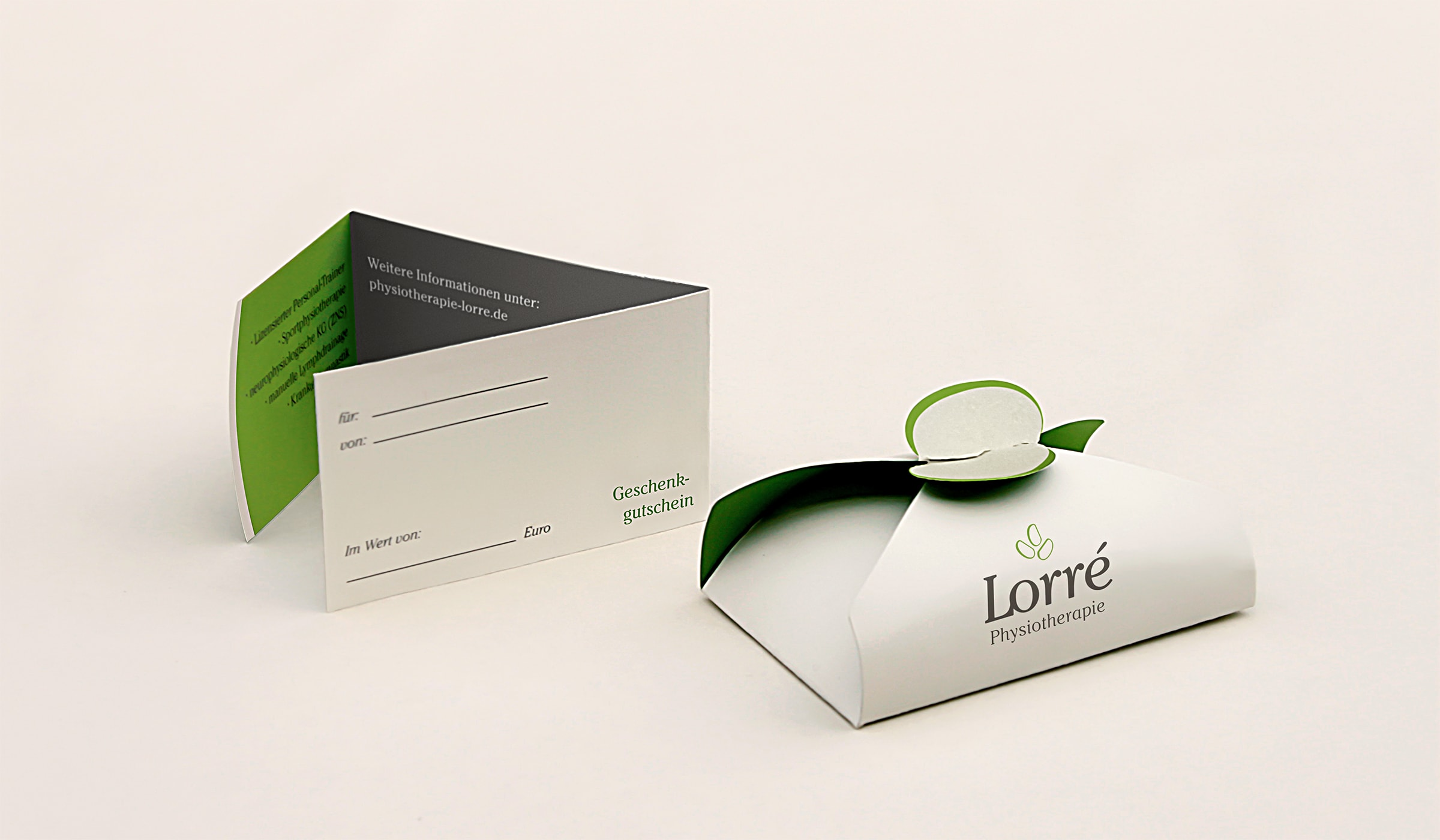 Konzeptarbeit ~ Corporate Design // Logodesign // Physiotherapie Lorré