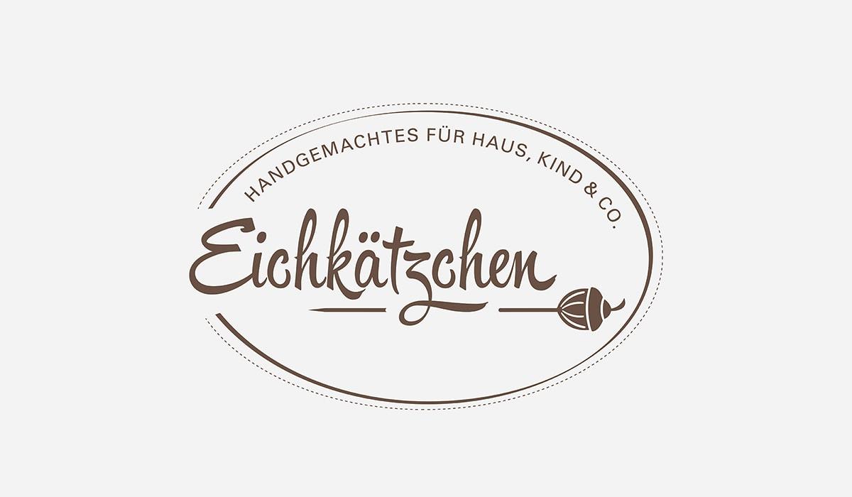 Konzeptarbeit ~ Logodesign // Logodesign (Braun – Haus und Co.) für das Kleinunternehmen Eichkätzchen // Logogalerie
